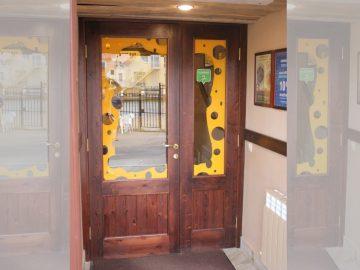 Музей сыра. Входные двери