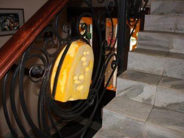 Музей сыра. Ограждения лестниц