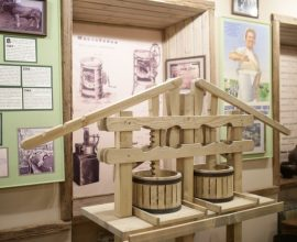 Музей сыра. Создание копии инструмента сыроварения