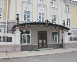 Отель на пр. Мира, строящийся объект