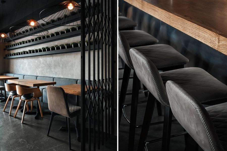 Интерьер BIVEN grill & barв Санкт-Петербурге от DA. design & architecture