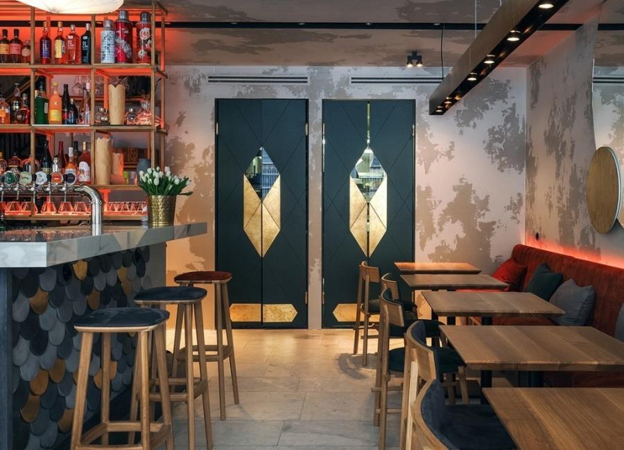 Интерьер кафе MADE IN CHINAв Санкт-Петербурге от DA. design & architecture