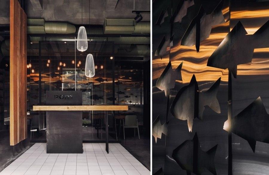 Интерьер ресторана PORT 2.0в Санкт-Петербурге от DA. design & architecture