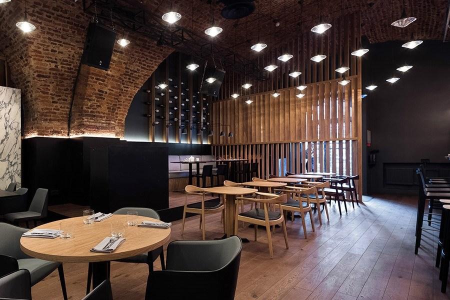 Интерьер Q wine barв Санкт-Петербурге от DA. design & architecture