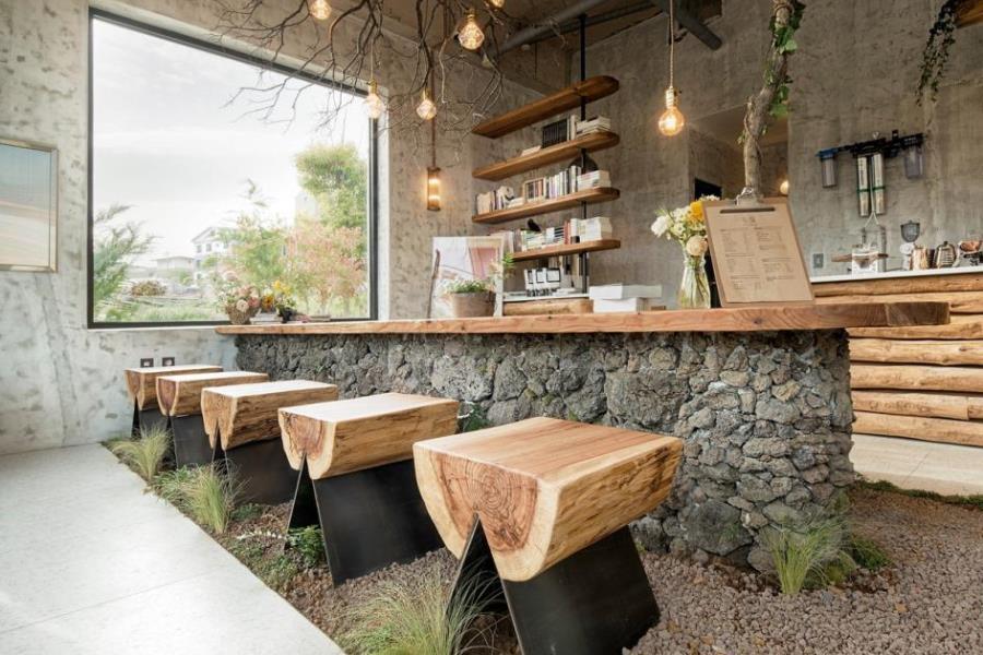 Интерьер кафе в Южной Корее от архитекторов студииSTARSIS