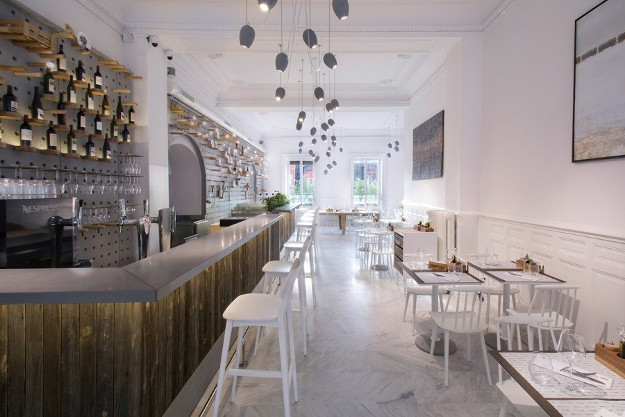 Ресторан CAFE TRES от Drozdov&Partners architect
