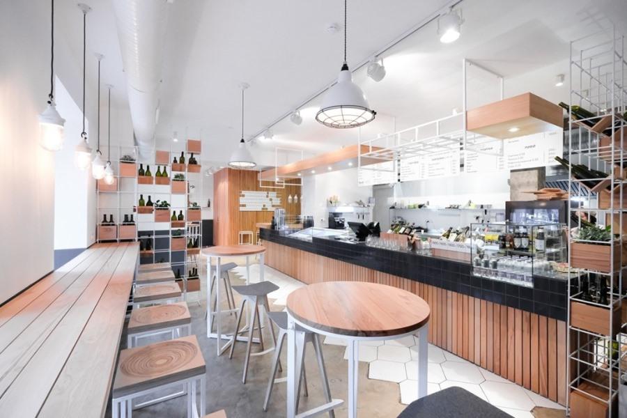 Интерьер FJORD seafood bistroв Санкт-Петербурге от DA. design & architecture