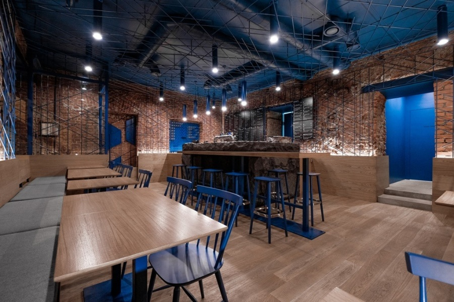 Интерьер FOODYDO wrap bar в Санкт-Петербурге от DA. design & architecture